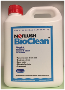 NoFlush BioClean 2 Litre Biological Urine Stain and Odour Remover and Cleaner